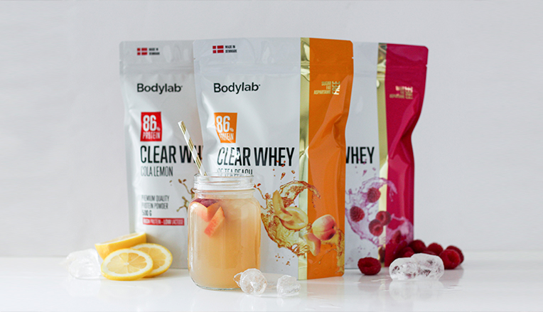 Bodylabs 3 Clear Whey varianter