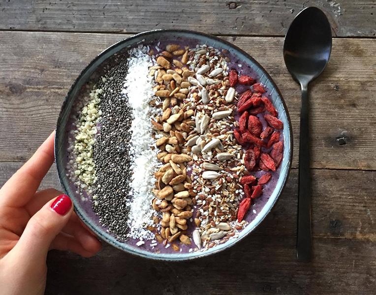 acai bowl ingredienser