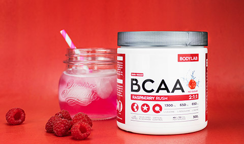 BCAA Raspberry Rush