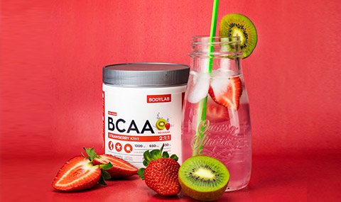BCAA Instant Strawberry & Kiwi