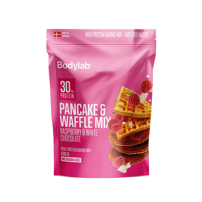 Bodylab Pancake Mix (500 g) - White Chocolate Raspberry
