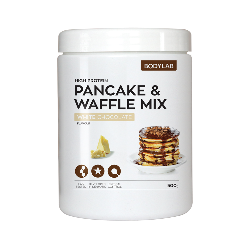 Bodylab Protein Pancake Mix (500 g) - White Chocolate