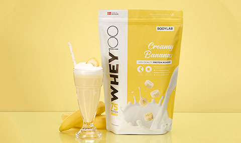 Whey 100 Strawberry Milkshake